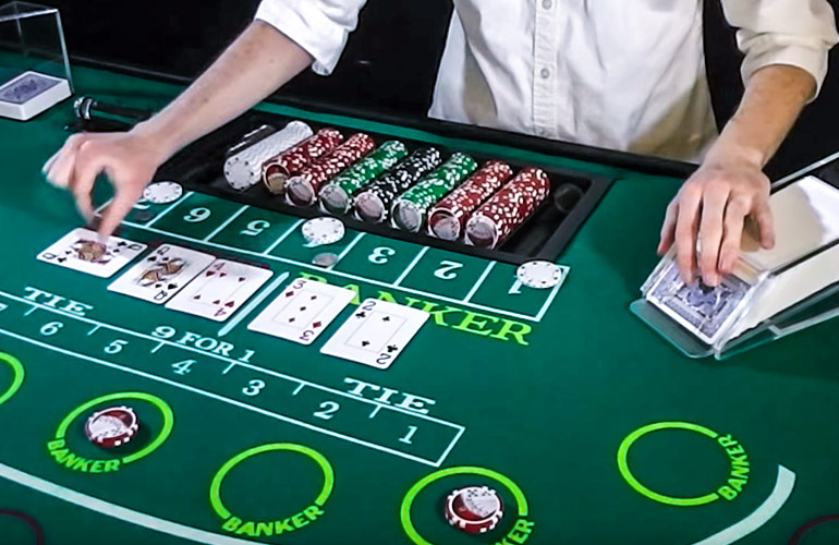 Baccarat Online betting